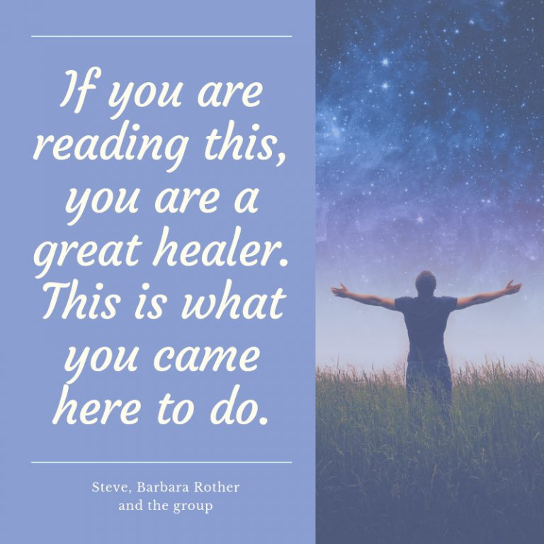 you are a great healer
