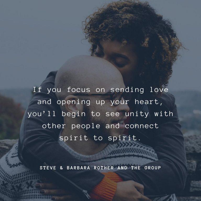 connect spirit to spirit quote