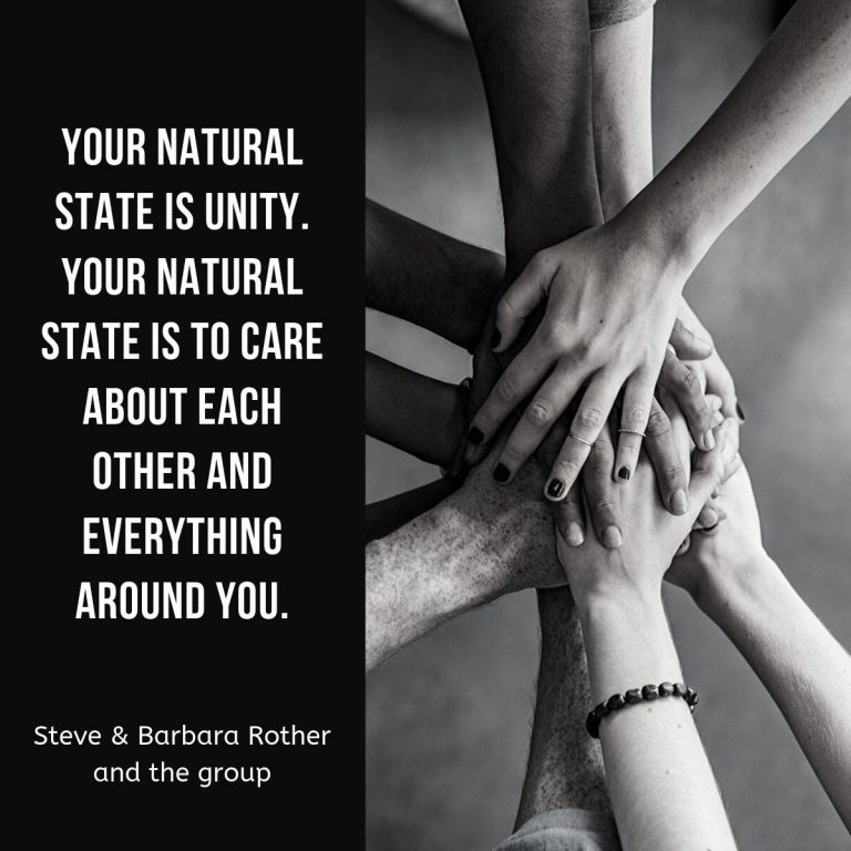 care about each other quote
