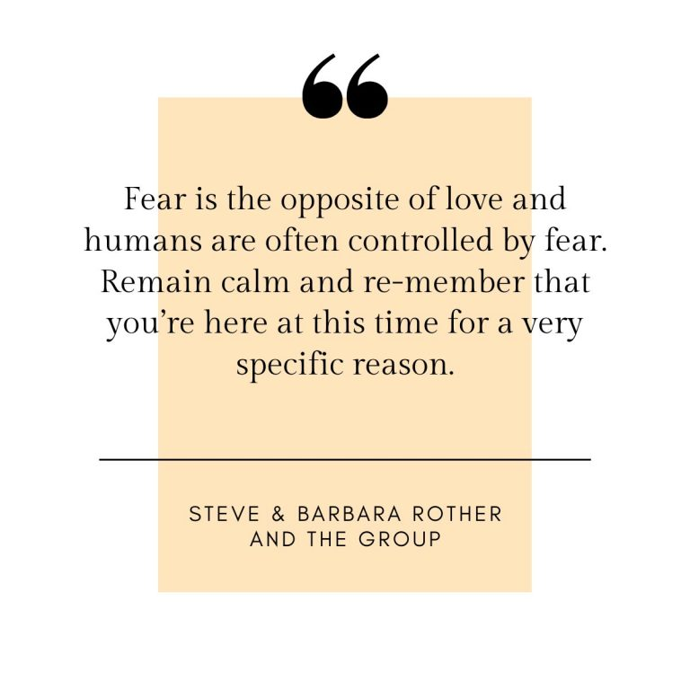 About fear quote