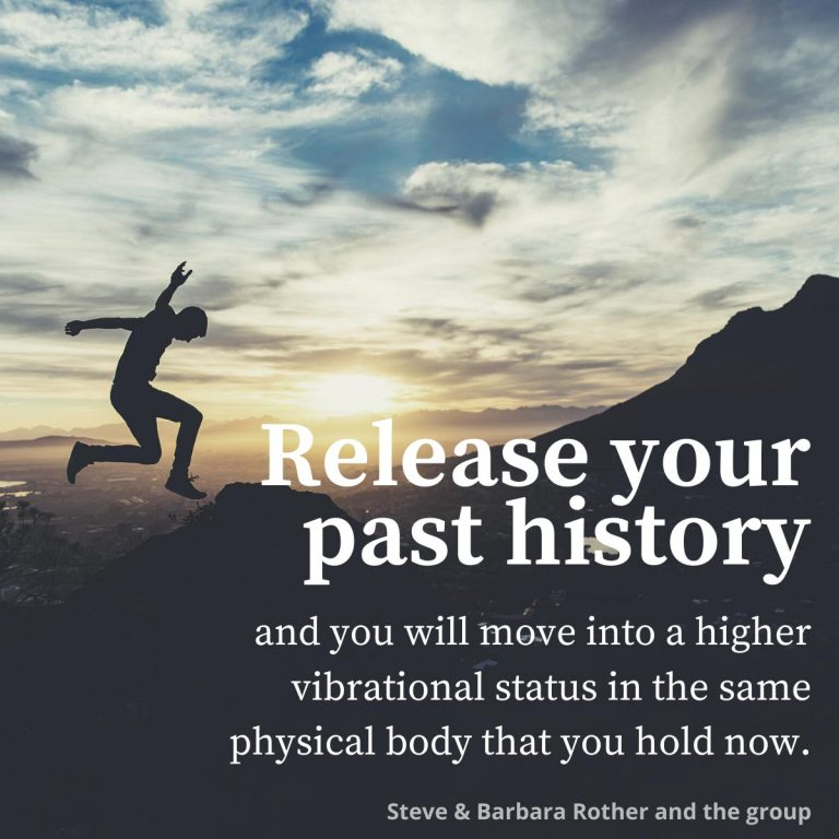Release your past history quotes