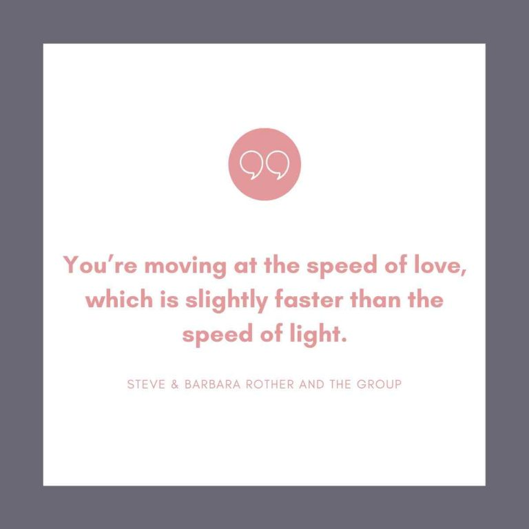 Speed of love quotes