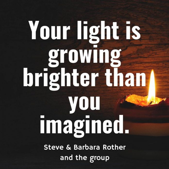 Your light is growing quotes