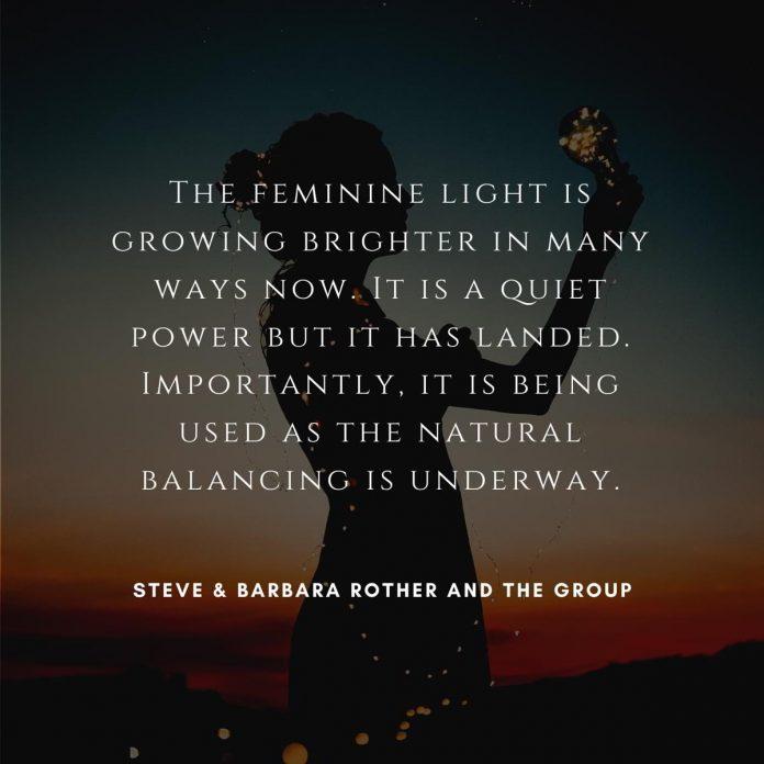 Feminine light quotes