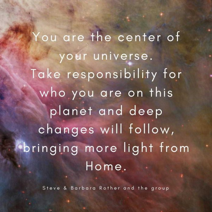 Center of your universe Quotes