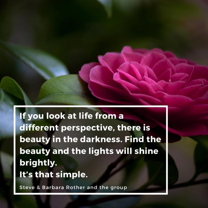 Beauty in the darkness Quotes