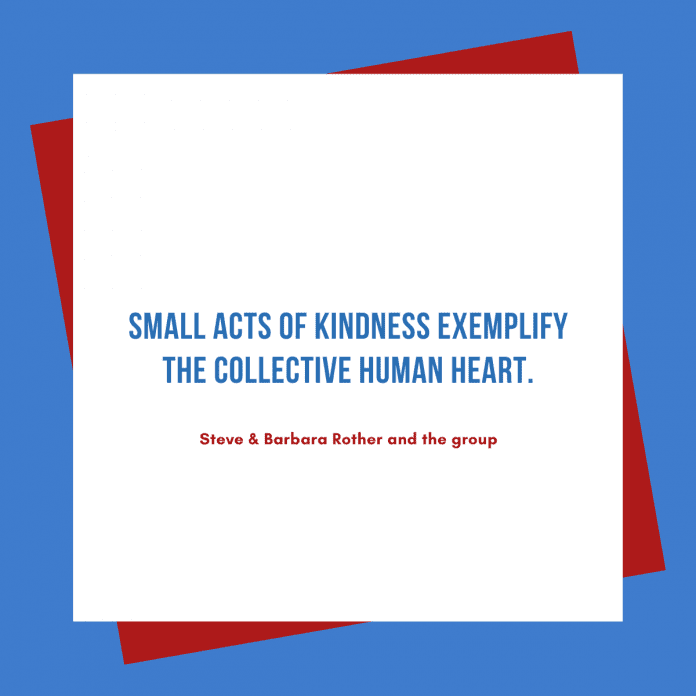 Small act of Kindness quotes