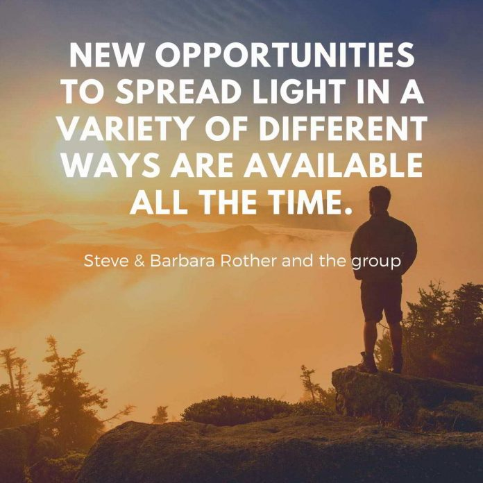 New opportunities to spread light