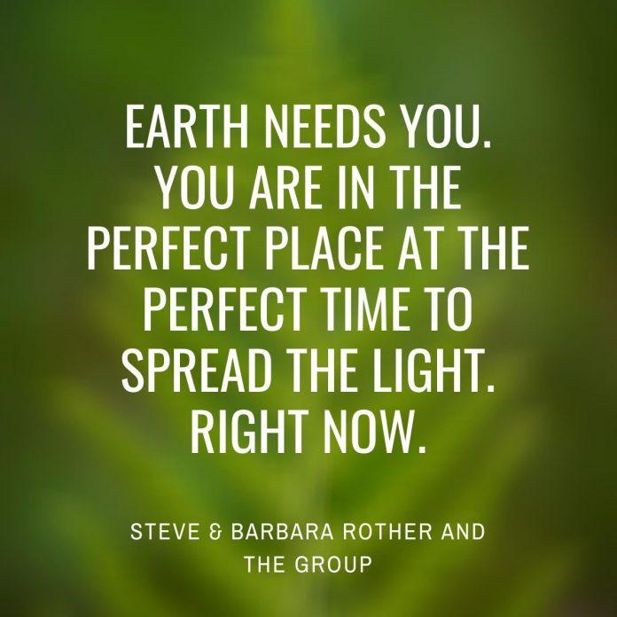 Earth needs you