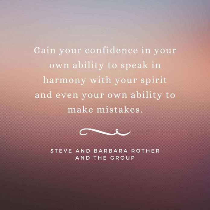 Gain your confidence